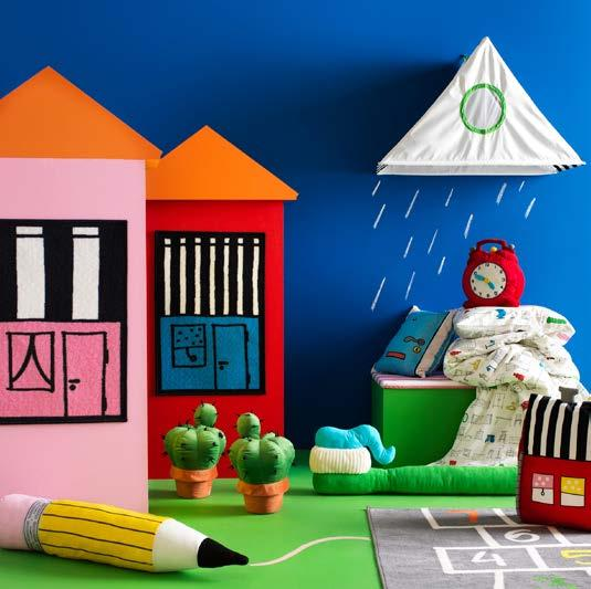 IKEA PRESS KIT / OCTOBER 2016 / 57 PH138606 HEMMAHOS COLLECTION With a mission to make the world play more, the HEMMAHOS collection stimulates and supports unlimited fun!