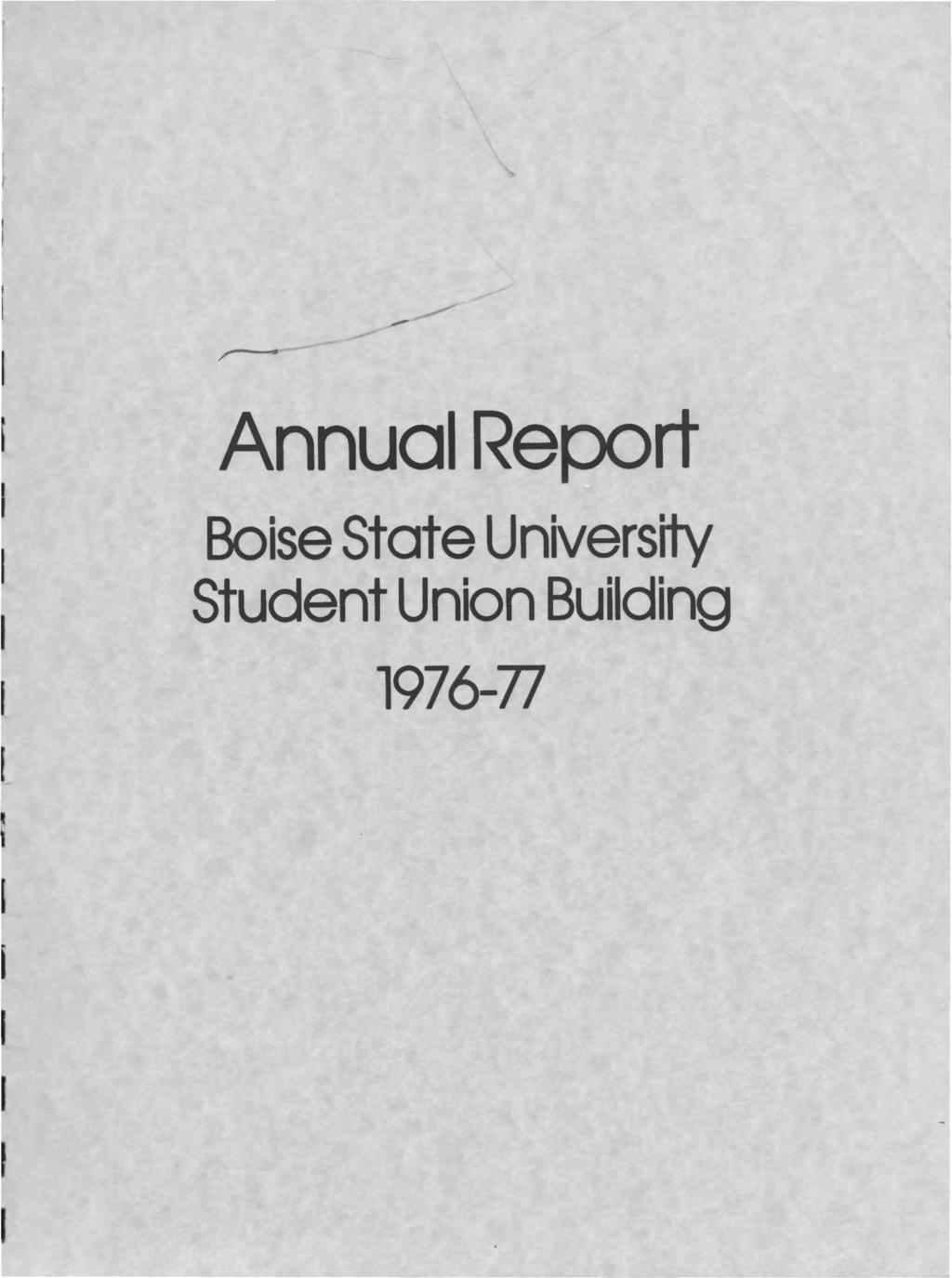 r ----- Annual Report Boise State