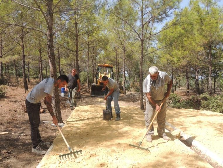 The budget of the project has been approved and construction works of the walking paths have started in 2016 (Figure 21-22). The estimated opening of the park is 2017. 3. http://www.gau.edu.