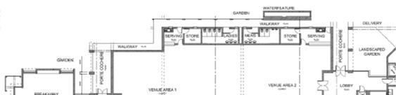 venue, a boardroom; store room and ablution facilities as shown in Figure