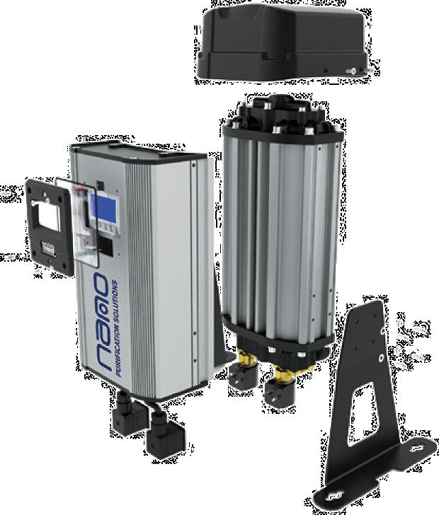 nano -Series compressed air dryers Clean and dry compressed air is easily achieved with the nano -Series ultrahigh purity compressed air dryers.