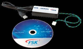 Appendix B PROGRAMMING CABLE AND SOFTWARE The Falcon is programmed using the FSK USB