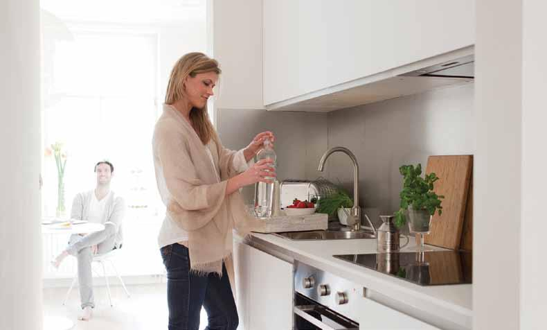 4 Low running costs for heating and domestic hot water A.