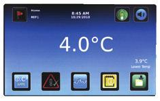 i.c 3 Monitor Acknowledge Download Exclusively on Models refrigerators are monitored with Helmer s exclusive i.c 3 User Interface. The i.