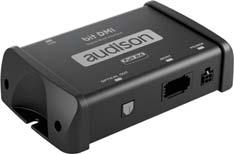 AUDISON BIT DMI Digital interface for MOST systems Provides the ability to connect Audison bit processors and amplifiers equipped with digital input to OEM systems featuring MOST technology Voltage:
