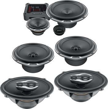 "5"" Mille Legend Woofer - 250W Peak 3"" Mille Legend Midrange - 180W Peak 35mm Mille Legend Tetolon Fiber Dome Tweeter - 180W Peak MILLE PRO SERIES Pressed-pulp cone with cotton fibers Tetolon fiber"