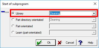 Perform a probe cleaning A probe cleaning can only be performed from the Repeat function. A probe cleaning can be programmed in the learning function.