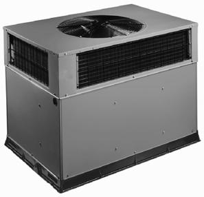 cabinet Direct drive high efficiency X--13 blower motor on all models Vertical condenser fan discharge Rust--proof base with integral sloping drain LIMITED WARRANTY 10--year compressor limited