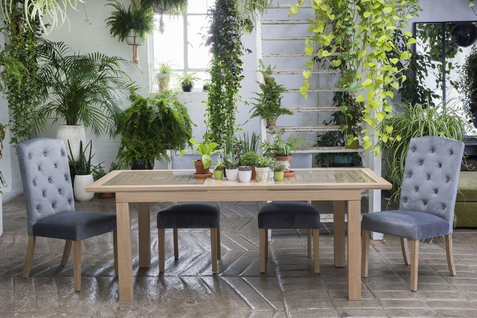 R E V A M P E D & R E S I Z D E MAZE DINING RANGE NEW contemporary oiled finish!