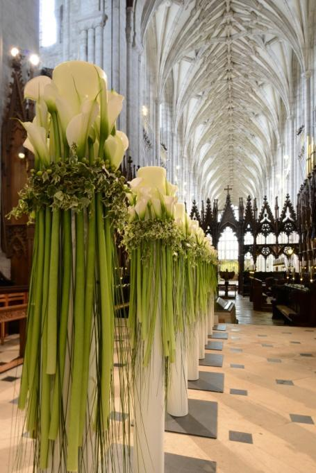 Thousands of flowers will be used to create stunning displays of contemporary and traditional floral designs, under the lead of artistic director Hans Haverkamp, who hopes his beautiful blooms will