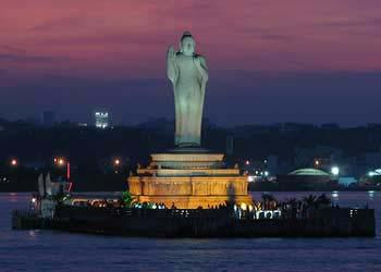 Hussain Sagar Lake Development, Hyderabad: Hussain Sagar lake in the city of Hyderabad is now a major tourist attraction in the city.