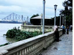 Kolkata An ambitious riverfront development project has been drawing many visitors in Kolkata.