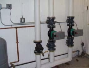 Old Artisan Heating Project New York, New York New 11,152 sq ft heated area, school for Autistic children Original Pump