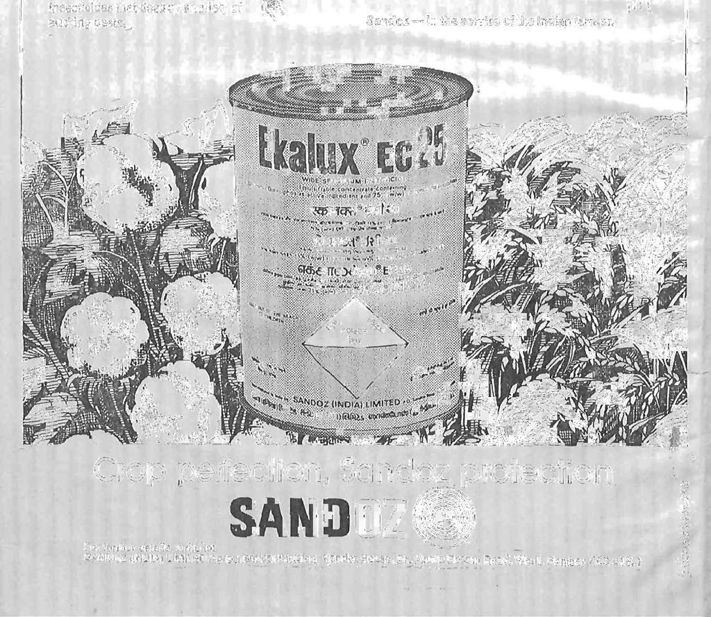 "Sandoz averts the danger agqln "",and again -."