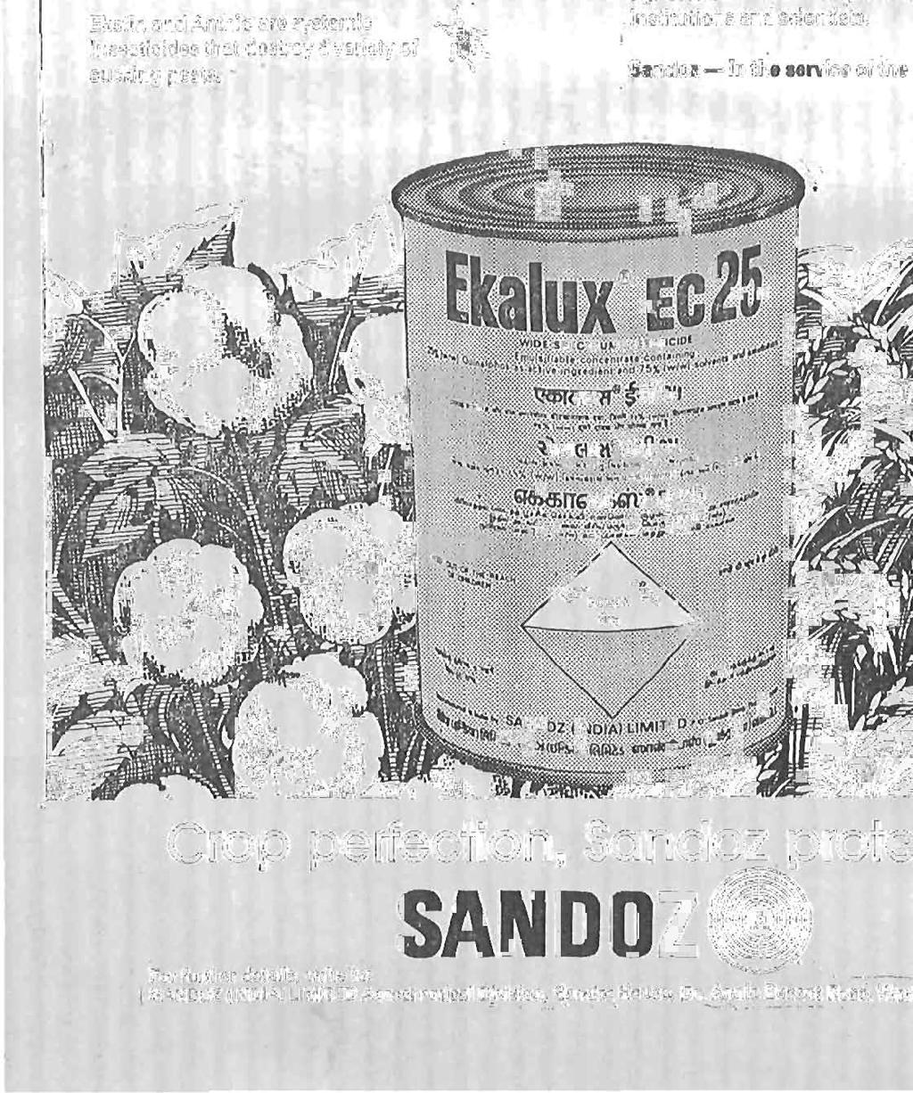 Sandoz averts the danger again... and again '.