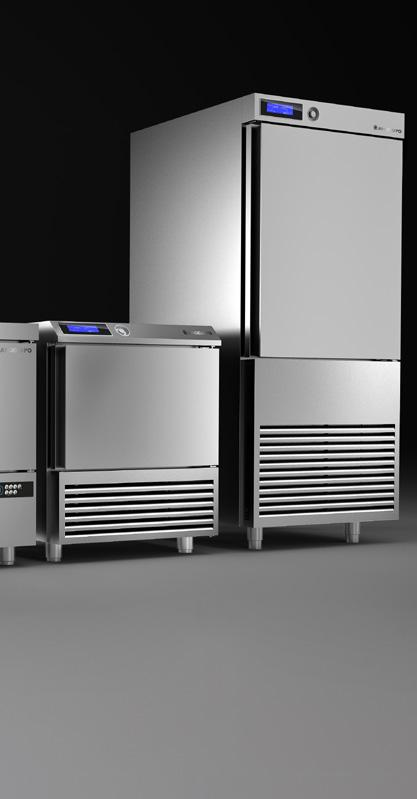 The new range of blast chiller freezer combines extraordinary results with extreme