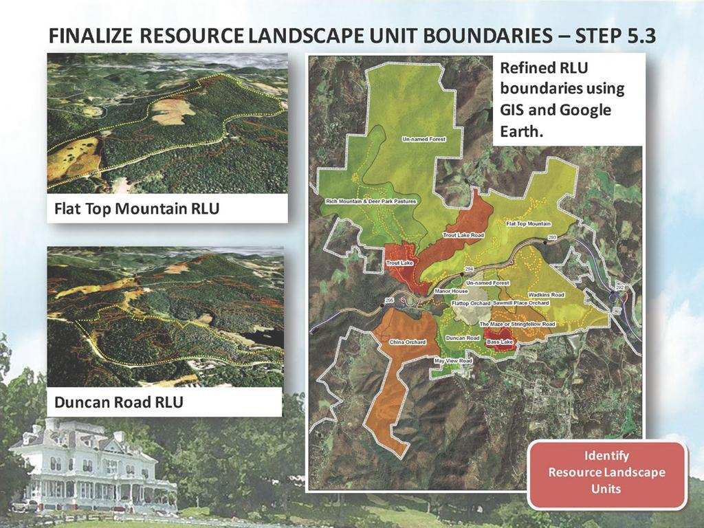 FINALIZE RESOURCE LANDSCAPE UNIT BOUNDARIES STEP 5.