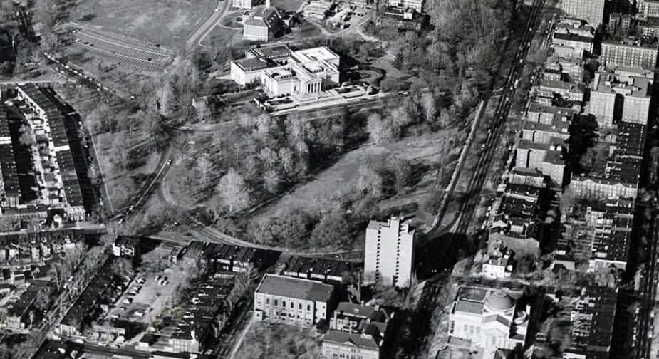 view of the Dell in the 1970 s.