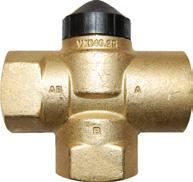 3. Three-way valves The directional valves found a wide application in the units for the adjustment of heating medium flow