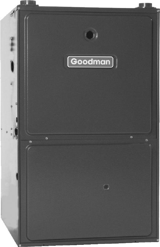 GMS9/GCS9 SERIES 93% AFUE Multi-Position, Single-Stage/Multi-Speed Gas Furnace Heating Capacity: 46,000 115,000 BTUH The GMS9/GCS9 single-stage, multi-speed gas