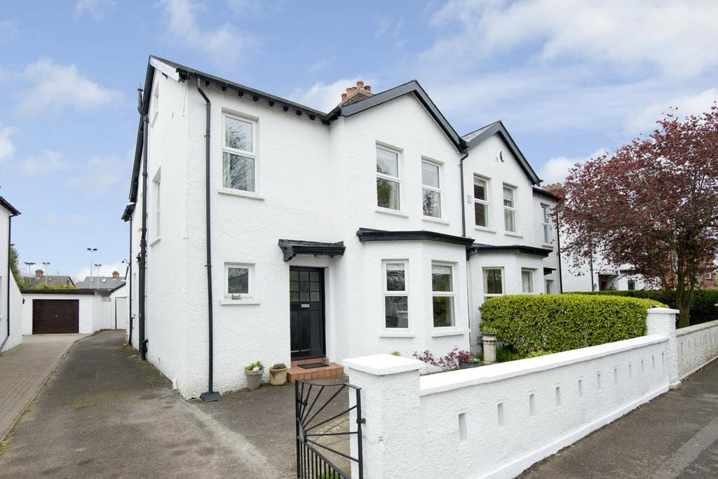 Photo Please fit in text box This bright, spacious and well-presented semi-detached home is conveniently located in the heart of Ballyhackamore in East Belfast.