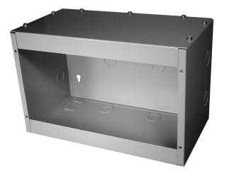 ACCESSORY OPTIONS: MODEL 4000 Surface-Mount Kit 20 Ga. CRS Enclosure Removable Access Panel Designed to easily install Time Mark Models 403, 404, 4042, 4052, 4062, or 408 Liquid Level Controllers.