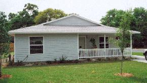 Florida: Lakeland HFH This affiliate has constructed 8 Building America level houses since 2002 (Figure 19).