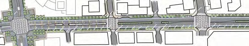 Section B-B The   South Yonge Street Corridor Streetscape Master Plan: