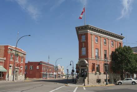 HERITAGE: OUR BUILDINGS AND SITES 10 ACTIONS: 1 Maintain a registry of historic buildings and sites within the City of Lacombe as provided by the Historical Resources Act 2 Promote the possibility of