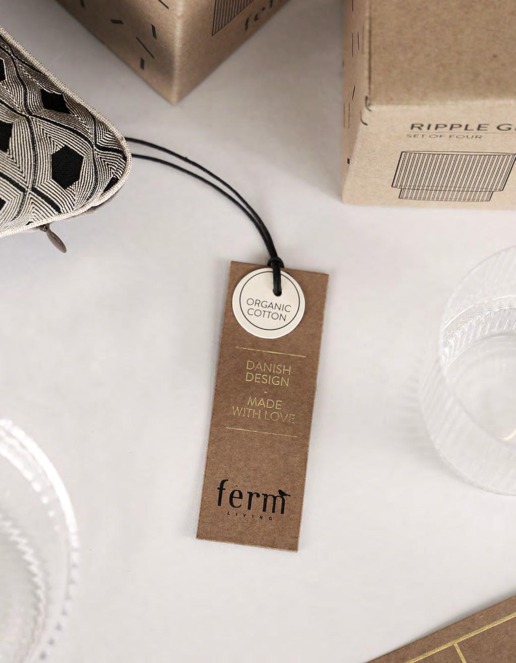 We believe in first impressions, which is why we give our packaging, care labels and hangtags a special touch.