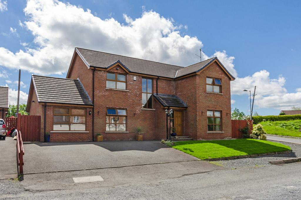 This exceptional detached family home is situated in a prominent position with an exclusive and very popular development within a few minutes of Lisburn city centre.