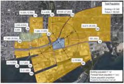 Parking and Service Access Existing infrastructure and major planned improvements to transit will allow East Harbour to thrive.