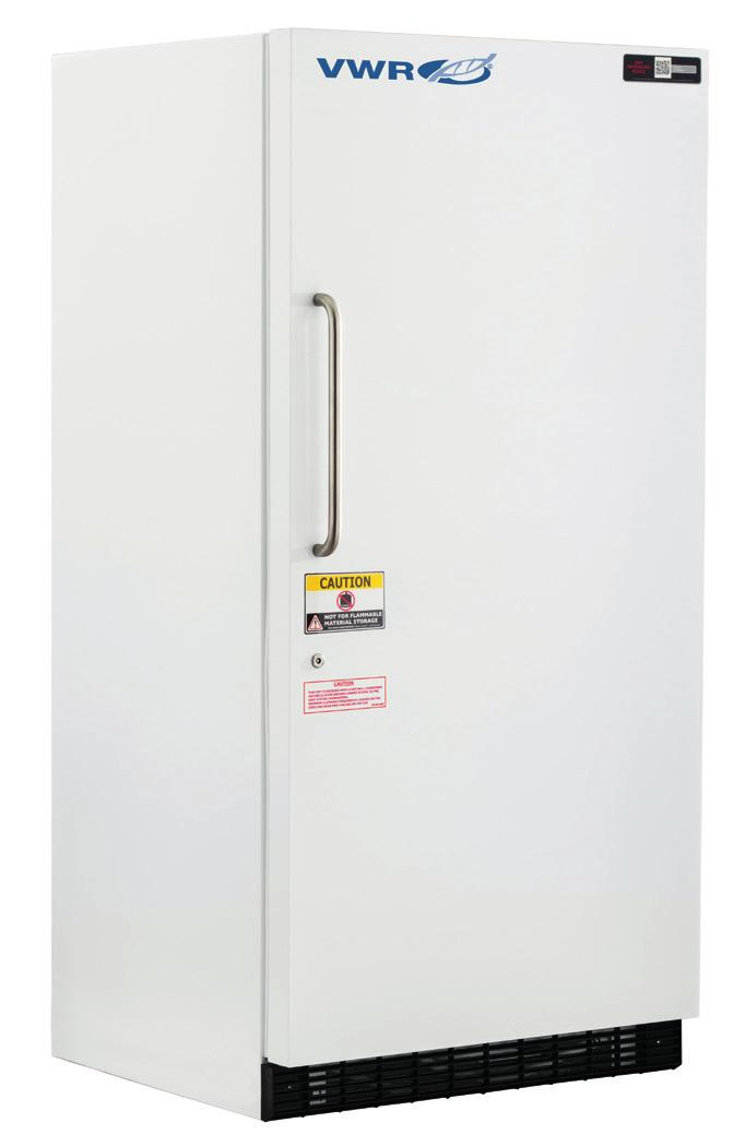 VWR STANDARD SERIES UNDERCOUNTER FREESTANDING REFRIGERATORS & FREEZERS WITH NATURAL REFRIGERANTS 1 to 10 C [Refrigerator] -15 to -25 C [Freezer] Designed specifically for general purpose