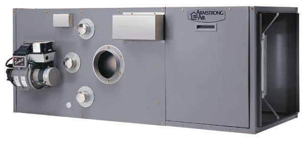 Ceramic Combustion Chamber with Easily Accessible Stainless Steel Heat Exchanger Clean-Out Ports All Parts** Available in 6 Horizontal/Counterflow Direct Drive Models with Heating Output from 57,000