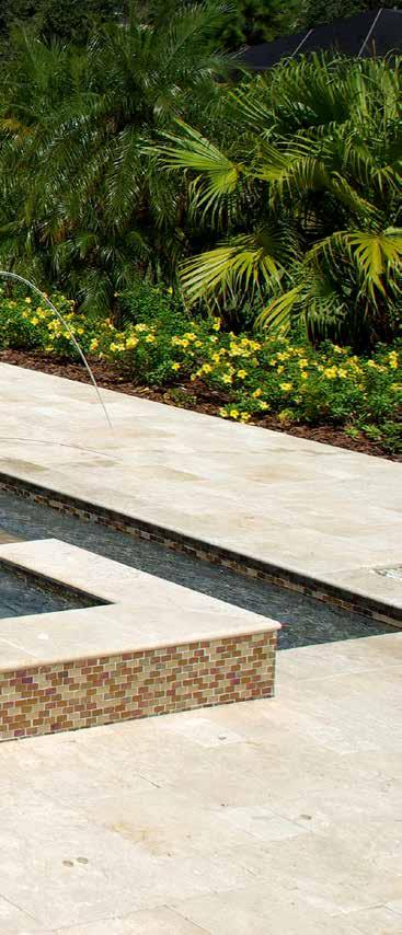 Ivory Pavers & Waterline Tiles are imported directly from Turkey.
