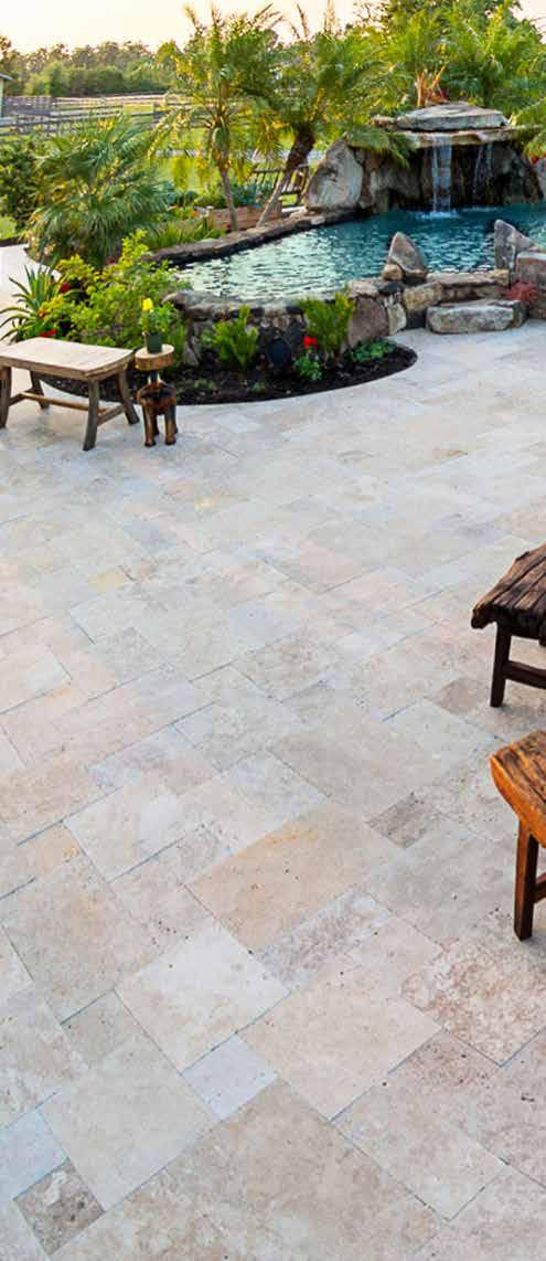 INTRODUCTION EXPERIENCE THE STONE-MART DIFFERENCE OUR MISSION Exterior Collection Stone-Mart is committed to providing our commercial partners with the finest premium select quality travertine and