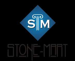 Locations: Tampa Tel: (813) 885-6900 6005 Anderson Rd. Tampa, FL 33634 St. Petersburg STONE-MART Web www.stone-mart.com Email info@stone-mart.