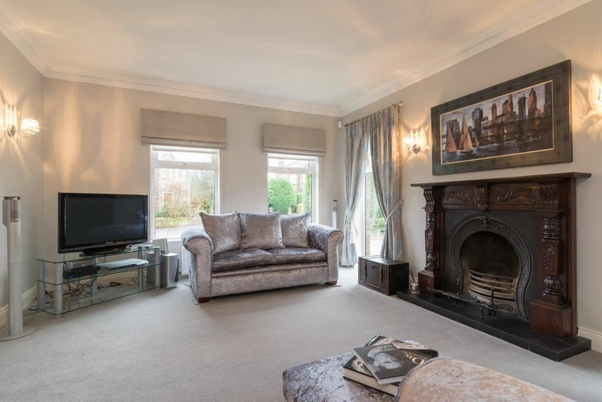 The Property Comprises: ENTRANCE PORCH: Hardwood panelled front door with matching double glazed side screens. Tiled floor, cornice ceiling.