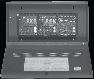 The module allows the control panel to switch these contacts on command. KFIM-10 Ten Input Monitor Module The KFIM-10 Ten Input Monitor Module is intended for use in an intelligent alarm system.