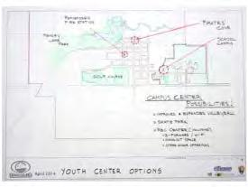 Youth Center Options In order to meet the current and future needs of Grantsburg s youth, the community may want to consider developing more spaces for youth