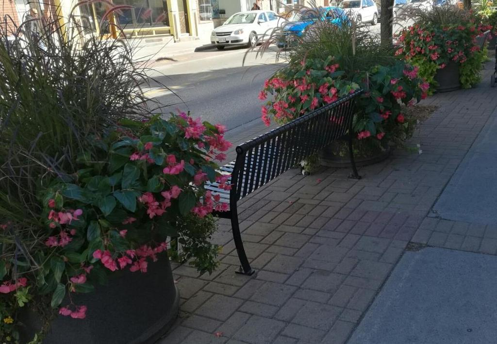 Downtown Streetscape Planters
