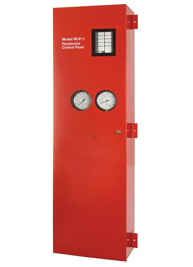 Worldwide Contacts www.tyco-fire.com RAPID RESPONSE Model RCP-1 Residential Control Panel 1 or 1-1/2 Inch (DN25 or DN40), 175 psi (12,1 bar) SECTIONS General Description.... 1 Warnings.