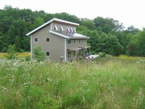 The second home, O Neil ZEH, located in Perkiomenville, Pennsylvania is a two story home with a 2016 square foot floor plan. Unlike the first home, the O Neil ZEH runs on geothermal energy.