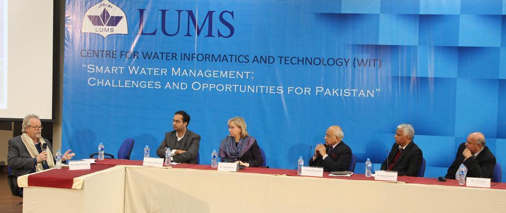 WIT - History of establishment Center idea formally proposed Jan 2015 (SSE AB Meeting) Center approved by LUMS MC Oct 2015 Center inaugurated Jan 22, 2016 (SSE AB Meeting) A unique