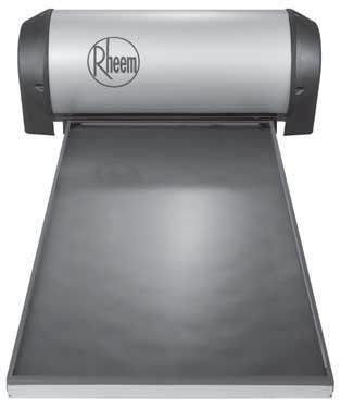 Rheem 52L Series 52L180 1-2 Outdoor 7 WYEAR CYLINDER A R R A N T Y Suitable for temperate or tropical location Stainless steel cylinder The 52L Series system directly heats the water as it passes
