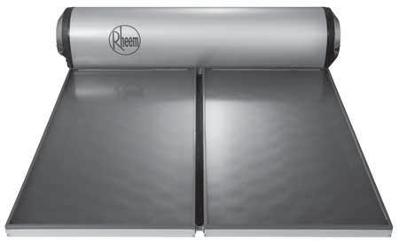 Rheem 52L Series 52L300 2-5 Outdoor 7 WYEAR CYLINDER A R R A N T Y Suitable for temperate or tropical location Stainless steel cylinder The 52L Series system directly heats the water as it passes