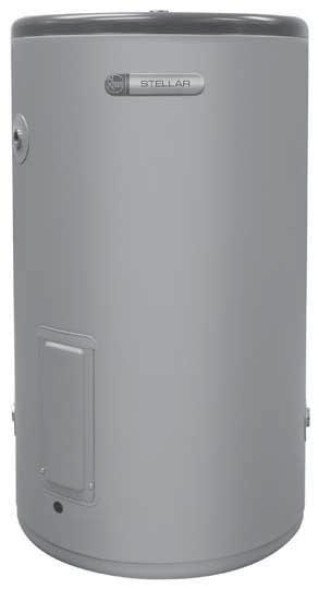 Rheem Electric Stellar SS 80L 4A1080 1-2 Indoor/ Outdoor Stainless steel cylinder and water fittings resist corrosion for longer, extending product life Dual handed fittings located on the front of