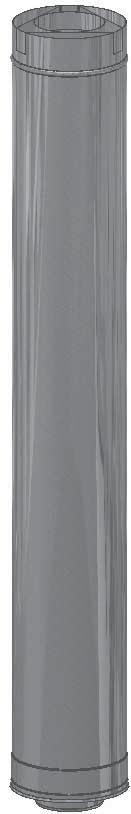 or ceiling terminating flues 295126 Straight Length 300mm Short straight sections Rheem INTERNAL Continuous Flow Water Heater
