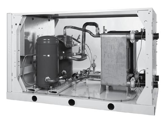 30WG: The ESEER of over 5.5 for dual-compressor units - one of the highest in its category.