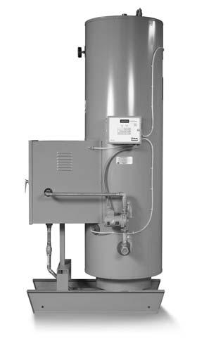 SPH Series Vertical Packaged Storage Boiler